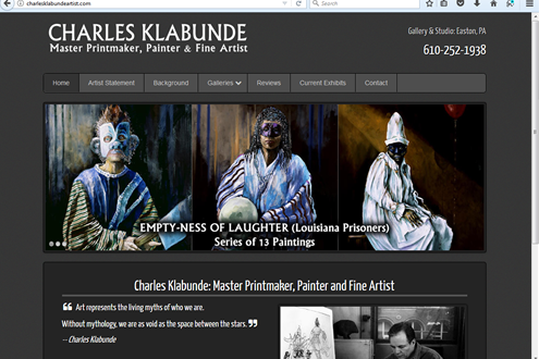 Charles Klabunde, Artist