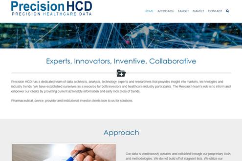 Precision Healthcare Data